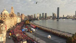 2019上海国际马拉松精彩瞬间回顾