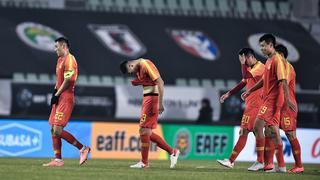 东亚杯-董学升破门 中国男足1-2日本