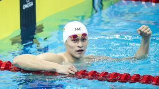 国际泳联冠军赛:孙杨400米自夺冠