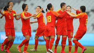 奥预赛-两将双响 中国女足6-1狂胜泰国