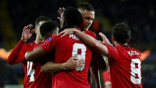 欧联杯|马夏尔单骑救主 曼联客场战平