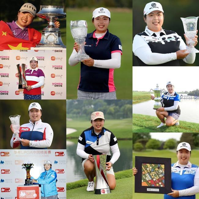 冯珊珊赢得了9个LPGA冠军
