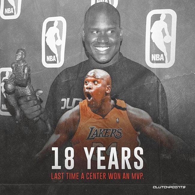 NBA中锋盛世重现?浓眉大帝可做不到18年前的他