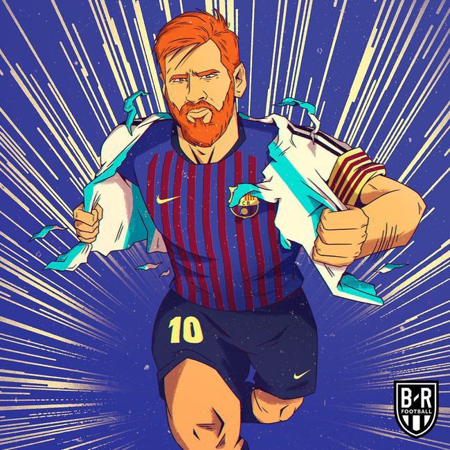 梅西回到西甲还是王!巴萨让他忘了世界杯的痛
