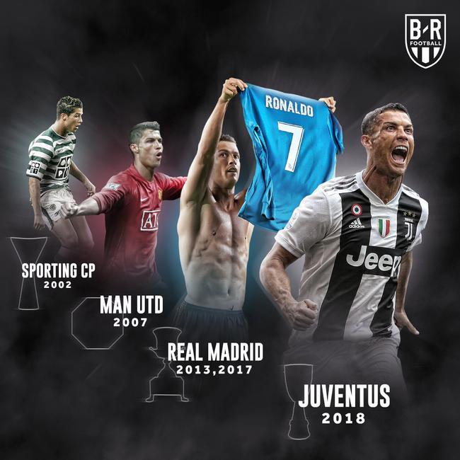 在四个联赛都夺得了超级杯冠军