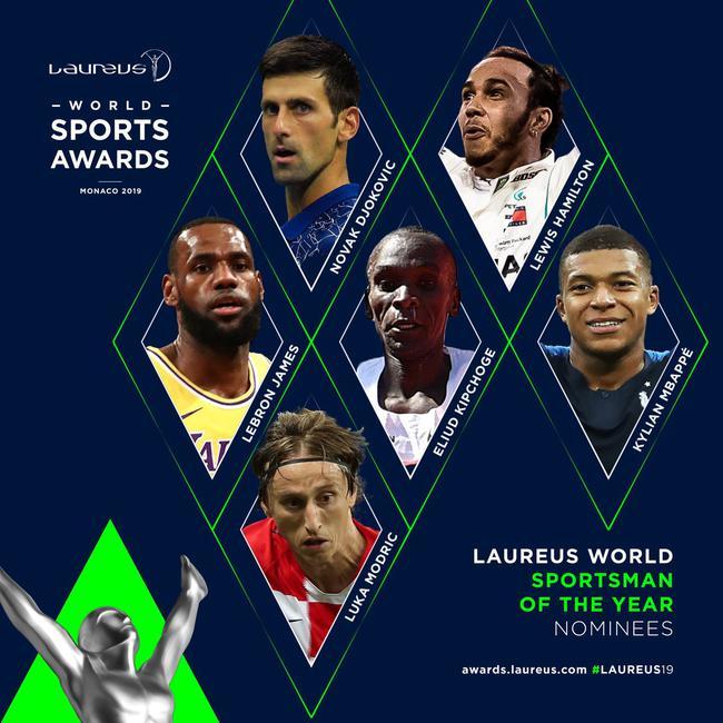 莫德里奇竞争年度最佳运动员