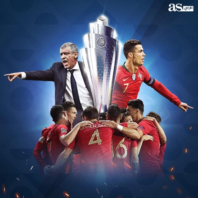 C罗国家队大赛第二冠!欧冠欧洲杯欧国联他都是王