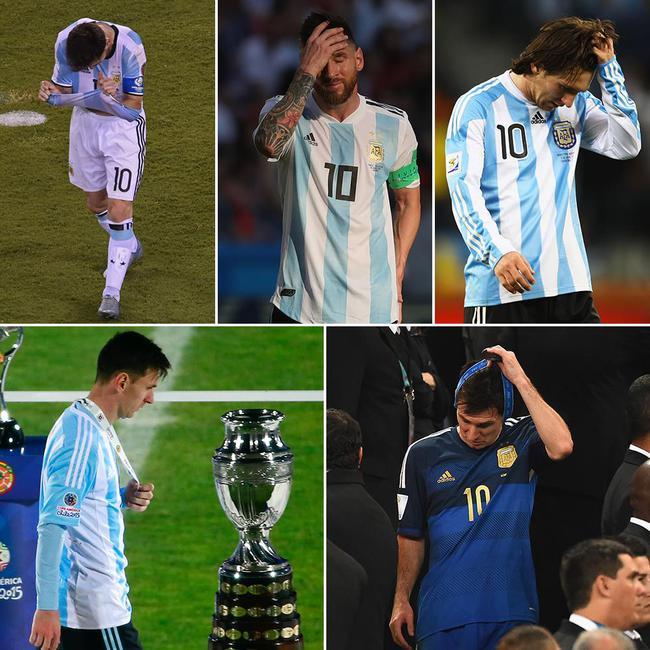 还有就是今年止步四强;另外,梅西曾4次随阿根廷队出战世界杯,2014年图片