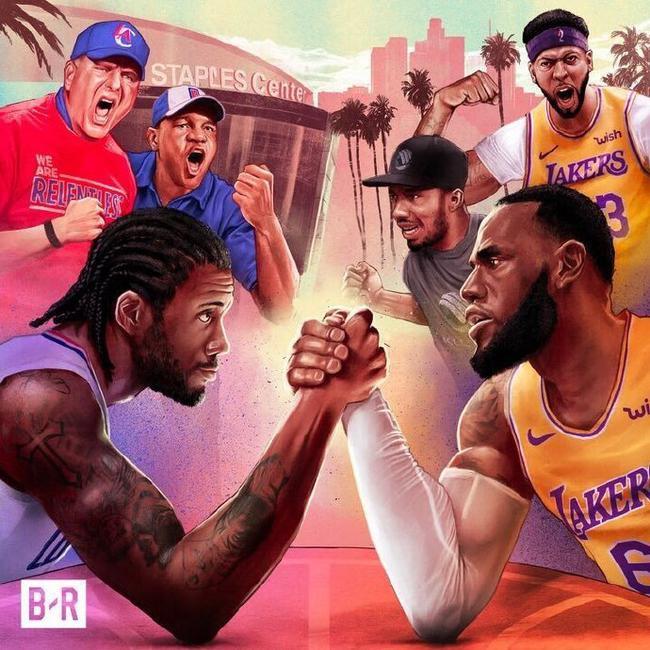 一图流 新赛季的洛杉矶德比的样子!你期待吗