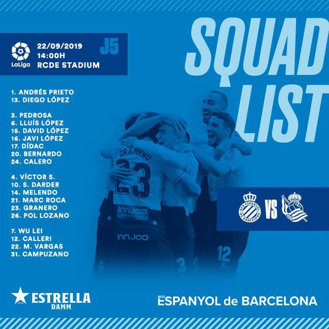 西班牙人大名单