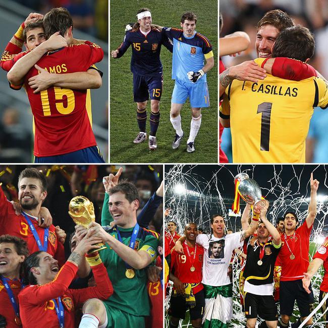 拉莫斯成为西班牙出场最众