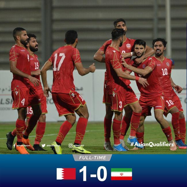 伊朗爆冷输球
