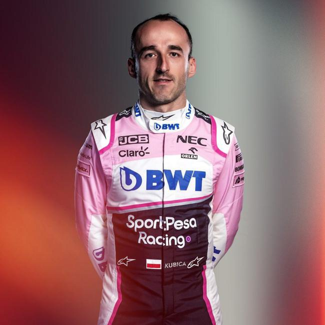 传闻库比卡签约赛点车队 成为试车手以及预备车手