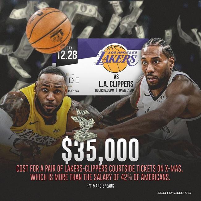 一张票35000美刀