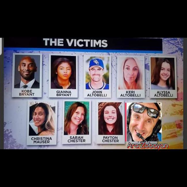【博狗扑克】科比坠机事件9名遇难者身份全部确认