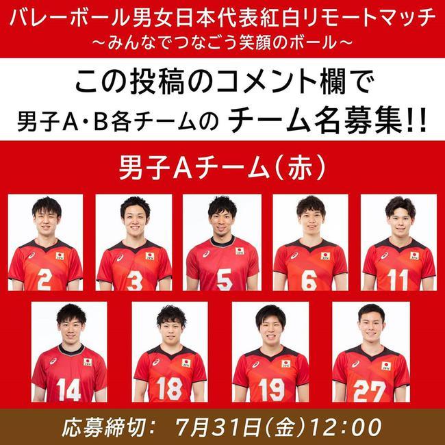 日本排球国家队红白对抗战 石川祐希与妹妹皆出战