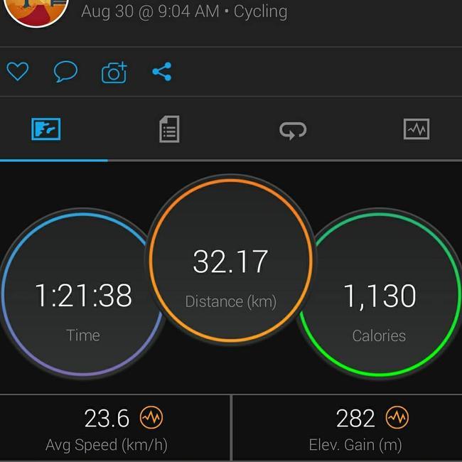 马努邓肯相约骑行!81分钟骑32公里邓肯还不累