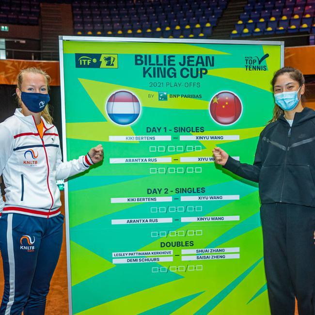 比利简金杯中国队首日1-1荷兰 王欣瑜连丢9局惨败