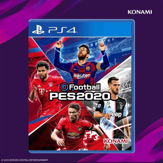实况足球2021公布游戏封面:梅西C罗首次同框!