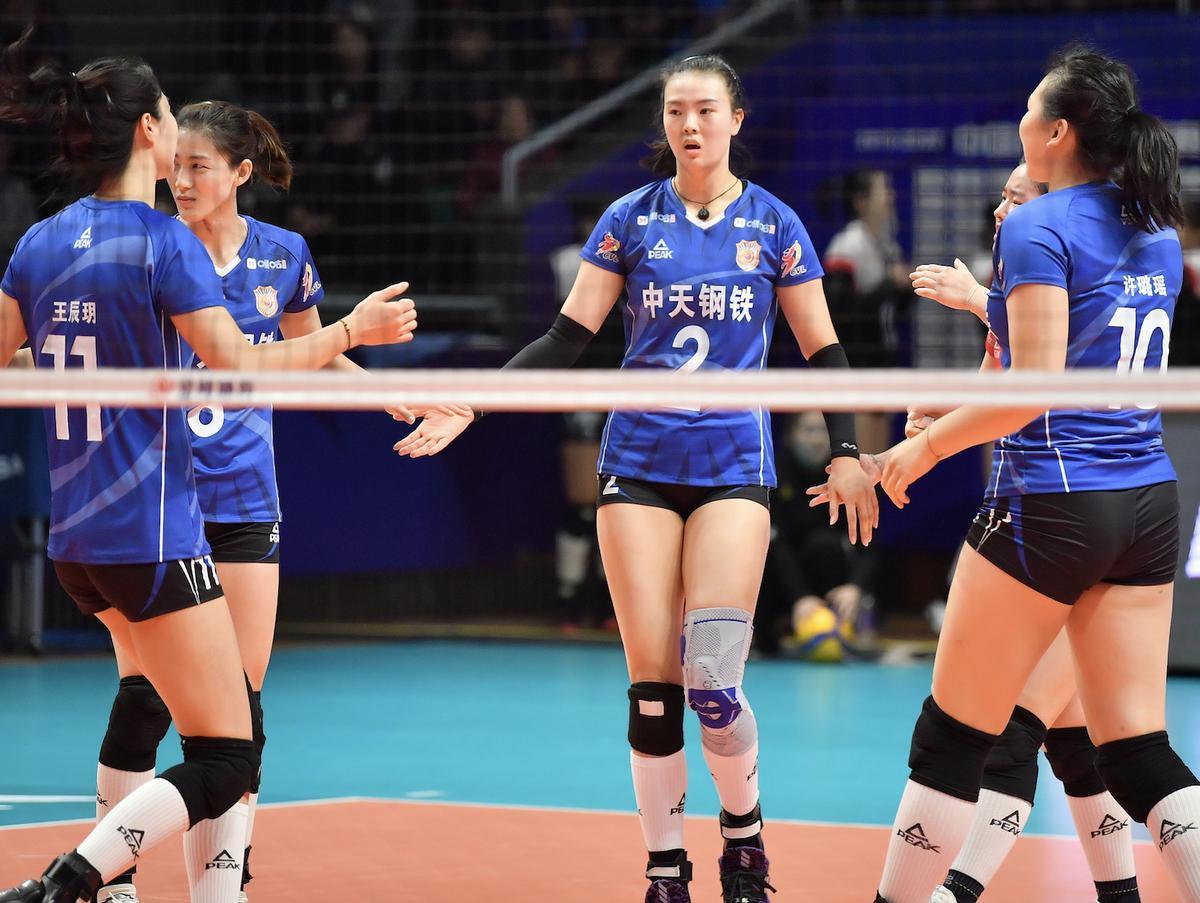 19-20中国女排超级联赛第九轮第52场江苏2:3负广东