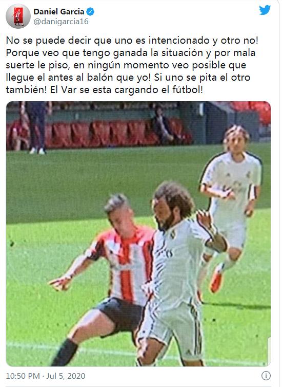 皇马对手炮轰裁判:VAR控制足球 漏判我们点球