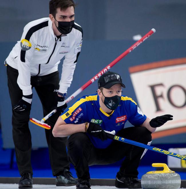 男子冰壶世锦赛决赛瑞典大胜苏格兰 三连冠达成!