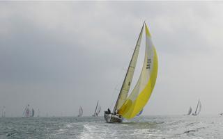 环海南岛国际大帆船赛开赛