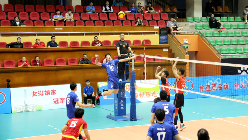 全运男排漳州赛区第三轮 四川3-0辽宁浙江3-0湖北
