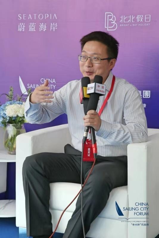 精彩:陈伟:帆船为文旅提供契机希望多与优秀IP合作