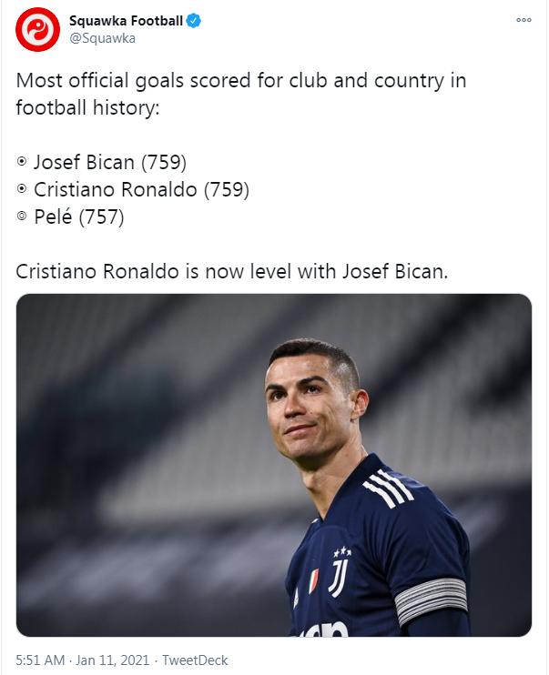 冲击850球!C罗和梅西 谁会成史上进球最多的球员