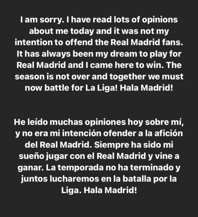 阿扎尔为大笑门事件道歉:无意伤害皇马球迷