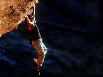 想象中的攀岩