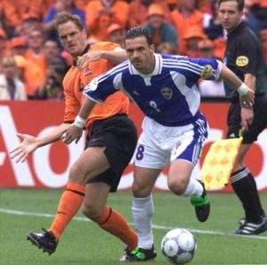98国际杯南斯拉夫死磕荷兰