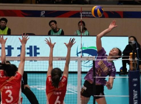 天津女排晋级决赛