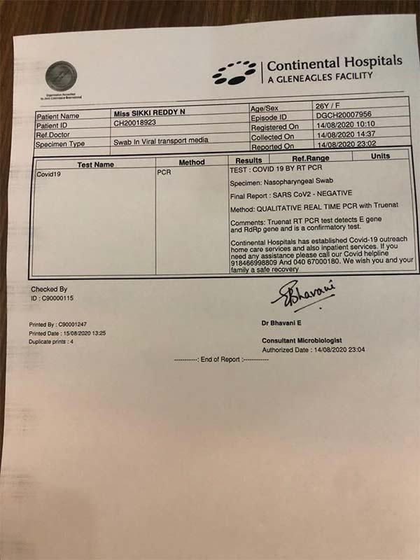 印度羽协两新冠检测阳性人员转阴 印度队恢复集训