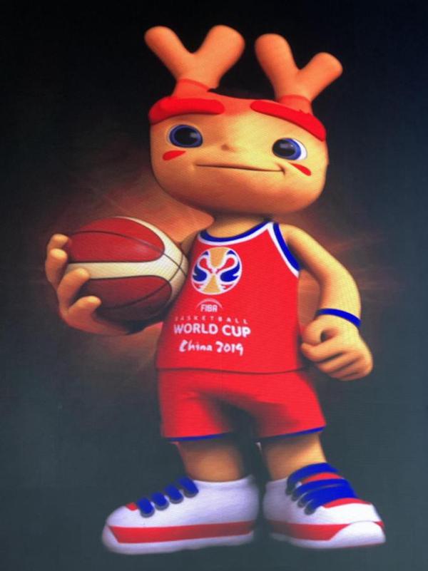 """2019国际篮联篮球世界杯吉祥物""""梦之子""""发布"""