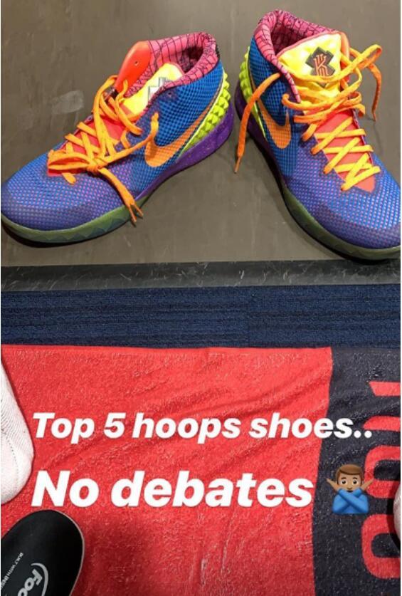 鞋王Tucker自認前五的球鞋!這也是他今天的戰靴