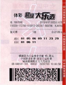 生意人小复式擒大乐透1151万 现场捐款10万-图_彩票