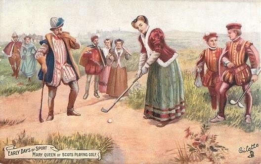 高尔夫收藏与历史系列之35 女子高尔夫运动历史悠久