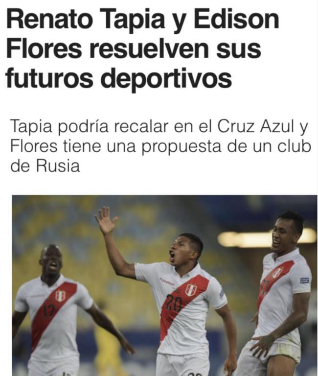 飞讯-俱乐部排名恒大亚洲第4 秘鲁国脚收中国报价