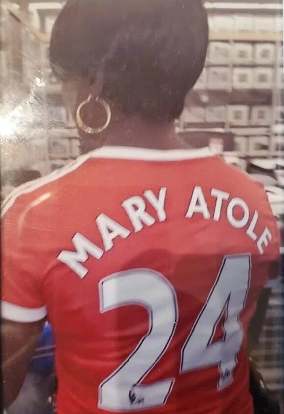 姐姐是忠诚的曼联球迷