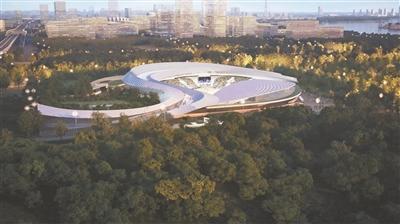 世博地区开建国际马术中心