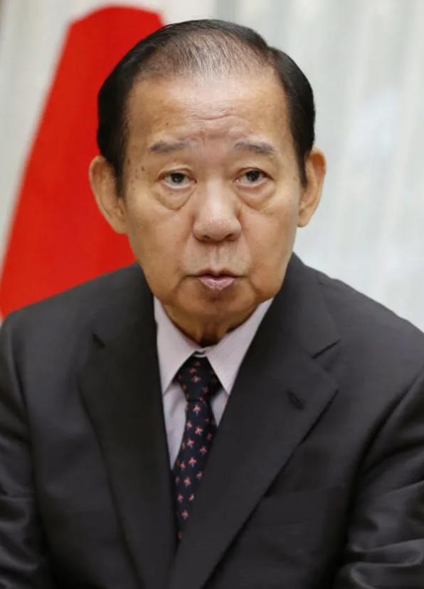 自民党干事长二阶俊博:取消东京奥运会也是选项