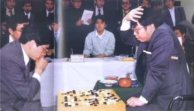 1988年第三届中日围棋擂台赛聂卫平与加藤正夫博弈