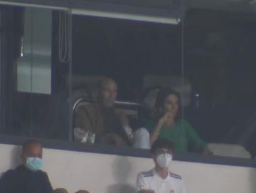 齊達內離隊后首次現場觀看皇馬比賽  關係已恢復
