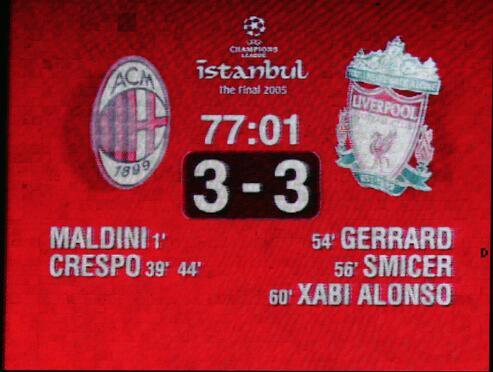 2005欧冠决赛常规时间比分
