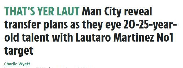 曼城主席披露转会计划 头号目标不是梅西而是他