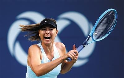 莎拉波娃是票房的保证,但她急需升迁比赛战绩。图/视觉中国
