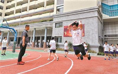 2020年广州体育中考即将响锣 同学你准备好了吗?
