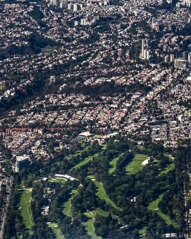 俯瞰墨西哥城